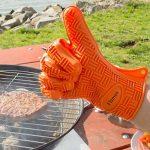 Flamen Gant de Cuisine 230°C pour le Four & BBQ - Gant Anti Chaleur, Thermique, Antidérapant, Résistant au Feu de la marque Flamen image 3 produit