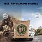 Fochea Absorbeur d'Humidité et d'Odeur Anti-humidité Anti-odeur Désodorisant Sac avec Charbon de Bambou Purificateur d'air Naturel Écologique sans Odeur et Chimique (200g*2) de la marque Fochea image 1 produit