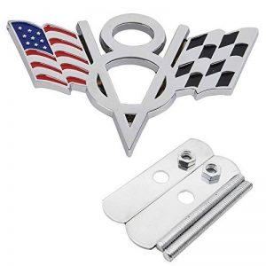 Garage-SixtySix Grille Emblem V8drapeaux banderoles USA Drapeau cibles de la marque Garage-SixtySix image 0 produit