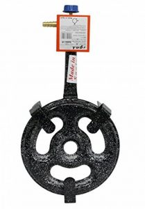 Garcima 76030 Réchaud pour paëlla à gaz l-301feu, 33x 59x 10,6cm Noir de la marque Garcima image 0 produit