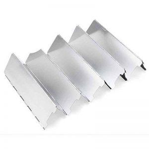 Gaz de camping Cuisine de plein air Pliable Poêle de coupe-vent pique-nique plaque en alliage d'aluminium coupe-vent Cuisinière à gaz Pare-brise LUFA de la marque LUFA image 0 produit