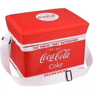 Glacière rigide pliable Coca-Cola Rouge Polyester isotherme Bandoulière réglable 36-1C-004 de la marque The Coca-Cola Coke Company image 0 produit