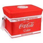 Glacière rigide pliable Coca-Cola Rouge Polyester isotherme Bandoulière réglable 36-1C-004 de la marque The Coca-Cola Coke Company image 1 produit
