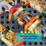 GOURMEO Panier Barbecue en acier inoxydable | 2 ans de garantie satisfaction | wok-grill, casserole pour grill, corbeille pour légumes, coquille pour légumes, corbeille pour pommes de terre de la marque GOURMEO image 6 produit