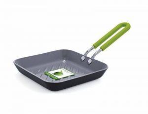 GreenPan ESSENTIELS CW001398-012 Mini Poêle Grill Aluminium Noir 12,5 cm de la marque GreenPan image 0 produit