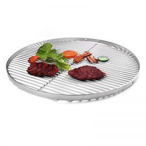 Grill en acier inoxydable 70cm Trépied pour barbecue oscillant Armature de la marque Hero image 0 produit