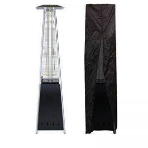 Happy Garden Parasol chauffant gaz STOCKHOLM 13kW acier noir + housse de protection de la marque Happy Garden image 0 produit