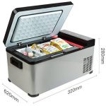Hongxj 17.3L Réfrigérateur De Voiture Réfrigérateur Maison Double Compresseur De Voiture Petit Mini Réfrigérateur Congélateur de la marque Hongxj image 2 produit