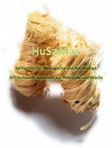 HuSaMae Allume-feu Ecologiques professionnels en laine de bois et cire, Briquet environ 32 pièces de la marque HuSaMae image 0 produit