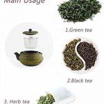 HwaGui théière en fonte japonaise bouilloire infuseur, 0,6L/600ml, pot thé d'or de la marque HwaGui image 4 produit
