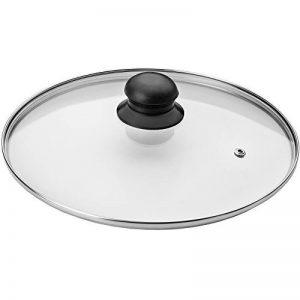 Ibili 970724 Couvercle, Transparent/argent/noir - ⌀ 24 cm de la marque Ibili image 0 produit