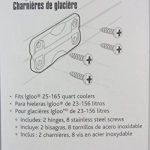 Igloo Blanc Charnières pour Ice coffres (1paire) de la marque Igloo image 2 produit