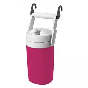 Igloo Products Corporation 00041670 Sport Cooler avec crochets, Hot Rod Rose, 1/2 GAL de la marque Igloo image 0 produit