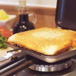 Impeccable Culinary Objects ICO021 Toaster de sandwich pour camping et extérieur Noir 36 x 16 x4cm de la marque Impeccable Culinary Objects (ICO) image 6 produit