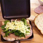 Impeccable Culinary Objects ICO021 Toaster de sandwich pour camping et extérieur Noir 36 x 16 x4cm de la marque Impeccable Culinary Objects (ICO) image 3 produit