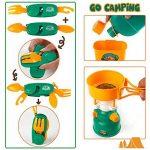 Jouets d'Imitation Jeux de Camping Pretend Play Camp Pour les Garçons et les Fillest de 3 ans et Plus de la marque F.D.E image 5 produit