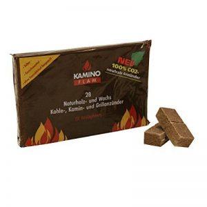 Kamino-Flam, Cubes Allume-feu Naturels, Carrées Cheminée en Bois et Cire, Écologique et 100 % Naturel, Combustion d'env. 7 Minutes par Cube, 28 pièce de la marque Kamino-Flam image 0 produit