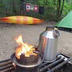 Kelly Kettle et Camp Poêle Ensemble: Comprend.... Nouveau modèle en acier inoxydable 'Base Camp' 1.6ltr Kelly Kettle® + Réchaud Hobo + batterie de cuisine en acier inoxydable (tous les). bouilloire de camping et Camp Poêle dans une. Ultra Rapide léger à image 2 produit