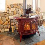 Kenley Ventilateur Écologique pour Poêle à Bois Gaz Charbon - 2/4 Hélice de la marque Kenley image 1 produit