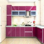KINLO 5*0.61M Stickers Frigo Auto-Adhésif Violet pour Armoire de Cuisine en PVC Imperméable Style Moderne Stickers Autocollant Muraux Étanche Décoration pour Chambre Salon Meuble de la marque KINLO image 3 produit