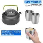 kit cuisine camping TOP 8 image 3 produit