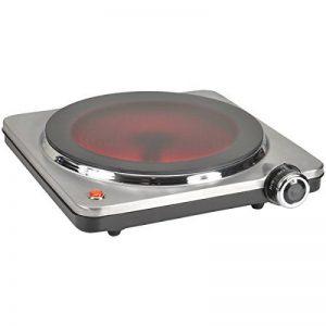 Kitchen Chef HP102-T10 Réchaud Electrique 1 Feu Inox Vitrocéramique 1500 W de la marque Kitchen Chef image 0 produit
