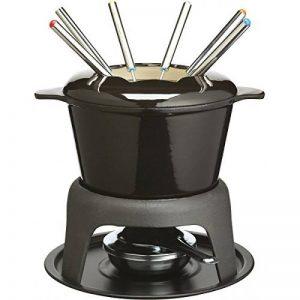 Kitchen Craft Master Class Service à fondue 6 fourchettes Fonte émaillée Noir de la marque Kitchen Craft image 0 produit