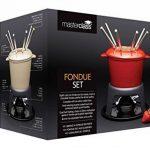 Kitchen Craft Master Class Service à fondue 6 fourchettes Fonte émaillée Noir de la marque Kitchen Craft image 1 produit