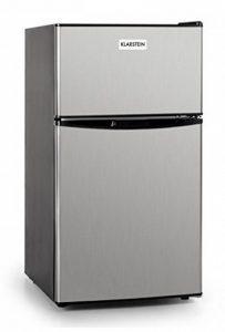 Klarstein Big Daddy Cool Autonome 80L A+ Acier inoxydable réfrigérateur-congélateur - Réfrigérateurs-congélateurs (80 L, N-ST, 39 dB, A+, Acier inoxydable) de la marque Klarstein image 0 produit