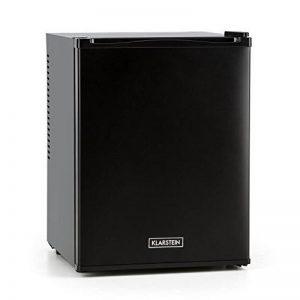 Klarstein Happy Hour • Minibar • Mini-réfrigérateur • Réfrigérateur à boissons • A+ • 32 Litres • env. 40 x 54 x 43 cm (LxHxP) • Peu bruyant • 2 étagères • Noir de la marque Klarstein image 0 produit