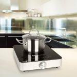 Klarstein VariCook SX plaque de cuisson à induction (taille compacte, puissance 1800W, chauffe rapide, temperature réglable 60-240°C, transportable) de la marque Klarstein image 2 produit
