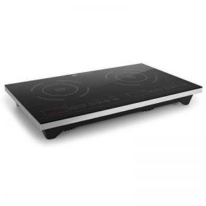 Klarstein VariCook XL • Plan de cuisson • Plaques de cuisson à double induction • 3100W • 240°C • 10 niveaux de puissance réglables • Surface en verre • Timer • Contrôle tactile sur la surface • Noir de la marque Klarstein image 0 produit
