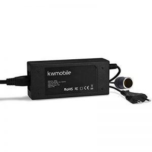 kwmobile Adaptateur de tension 230V vers 12V - Convertisseur électrique allume-cigare vers prise câble 1,82m env - Redresseur pour appareils 72W max de la marque kwmobile image 0 produit