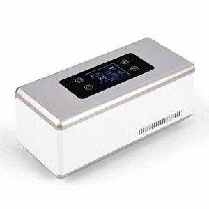 L&Z Boîtier De Refroidissement Électrique En Aluminium Pour Voiture Et Prise 12V Réfrigérateur Classe Énergétique A ++ de la marque L&Z image 0 produit
