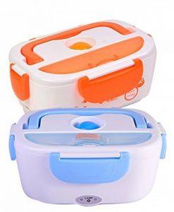 Le dernier Boîte chauffante électrique portable pour déjeuner - 220V - Orange / Vert / Bleu / Rouge de la marque Generico image 0 produit