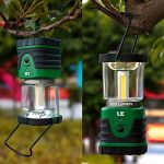 LE Lanterne de camping LED 9W 500lm, 3 Modes d'Eclairage, 6000-7000K Blanc du jour, IPX4 Résistante à l'Eau, ultra lumineuse, lumière d'urgence, Idéale pour les activités extérieures de la marque Lighting EVER image 4 produit