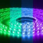 LED Universum Bande à LED RVB avec contrôleur, télécommande et bloc d'alimentation 6 A Protection IP65 5m 60 LED/m de la marque LED Universum image 3 produit