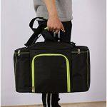 LemonGirl 10-25L sac à lunch isotherme de grande capacité de réfrigérateur de toile pour le voyage de pique-nique de femmes d'hommes de la marque LemonGirl image 2 produit