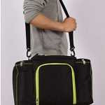 LemonGirl 10-25L sac à lunch isotherme de grande capacité de réfrigérateur de toile pour le voyage de pique-nique de femmes d'hommes de la marque LemonGirl image 3 produit