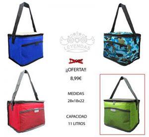 Légendes Sac glacière isotherme nourriture déjeuner offre vert 10l de la marque Leyendas Lunch Bag image 0 produit