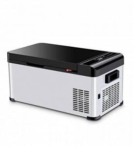 LIQICAI Glacière Électrique Portable Mini Réfrigérateur Réfrigération Grande capacité un camion voiture maison 3 scènes disponibles, La température de refroidissement peut être réduite à -25 ° C ( taille : 17.3L ) de la marque LIQICAI-BINTONG image 0 produit
