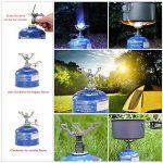 Lixada Mini réchaud à gaz portable léger pliable pour camping randonnée plein air camping de la marque Lixada image 3 produit