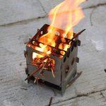 lixada Poêle à bois pliable Camping Pique-nique cuisson cuisson de la marque Lixada image 6 produit