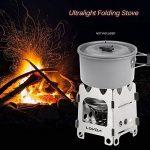 lixada Poêle à bois pliable Camping Pique-nique cuisson cuisson de la marque Lixada image 1 produit