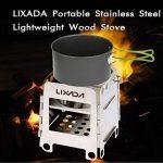 Lixada Portable Réchaud à bois camping pliable Poêle Camping Cuisine pour la randonnée , le pique-nique , le camping de la marque Lixada image 2 produit