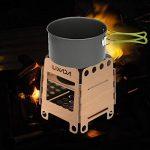 Lixada Portable Réchaud à bois camping pliable Poêle Camping Cuisine pour la randonnée , le pique-nique , le camping de la marque Lixada image 5 produit