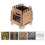 Lixada Portable Réchaud à bois camping pliable Poêle Camping Cuisine pour la randonnée , le pique-nique , le camping de la marque Lixada image 6 produit