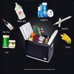 LJ Mini réfrigérateur - 46L réfrigérateur compact contient 62 canettes de 310 ml | de la marque Réfrigérateur voiture image 1 produit