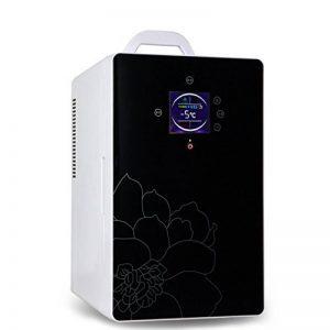 LJ Réfrigérateur pour voiture 16L Car Home À double utilisation Mini incubateur à froid et à chaud Réfrigérateur à domicile Chambre à coucher Réfrigérateur Mini réfrigérateur ( Couleur : Noir ) de la marque Réfrigérateur voiture image 0 produit