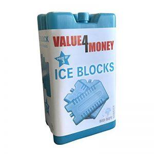 Lot de 3/6–Congélateur blocs–Une Utilisation avec sac isotherme pour plus de refroidissement–Rafraîchit et garde la nourriture au frais de la marque Value 4 Money image 0 produit